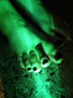 Glowing Monster Paw by Yes-Mistress--Please