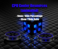 CPU Cooler Resources (animated) for xwidget by jimking