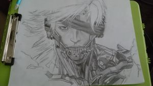 Metal Gear Rising- Raiden  by WhatsYourGimmick