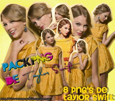 Pack png de Taylor Swift by MilyEdictions