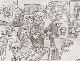Vaati's house party!!!!!!!!!!!!!!! by PlasmaZoroark