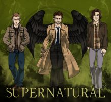 030513 Supernatural by GillyPerkyGoth