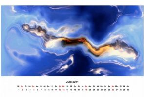 abstract 2011 - calendar 06 by 2-03