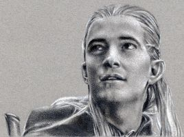 Enchanted Legolas by ElvesAteMyRamen