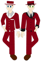 EEnE:MW - The Anderson Brothers by TheArcticDemon