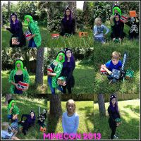 MINECON 2013 COLLAGE by RiseAgainstCEDA