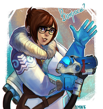 Mei by rushwellart