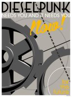 Dieselpunk Kickstarter Campaign: We Need You NOW! by stefanparis
