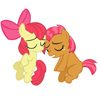Apple Bloom and Babs Seed by Coolez