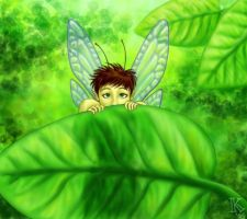 Forest Fairy by Kecky