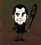 TWD: Don't Starve - Negan by lupienne