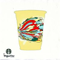 StarBucks Frappuccino entries by AFWdesign11