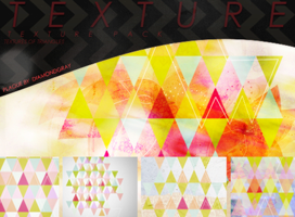 Textures Triangles - Pack by DiamondGray