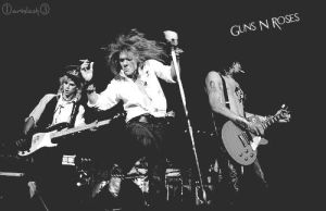 Guns N' Roses by ArtSlash13