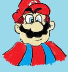 Mario (paint) by MarioFan4