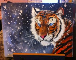 Snow Tiger by MaxPaineVolumn