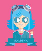 Ramona Flowers by Helbetico