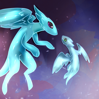 First Flight by PuddingzWolf