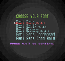 Fami Font Family: Variety NES-Style Fonts by JapanYoshi