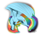 Rainbow Dash by Famosity