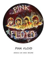 Pink Floyd on Vinyl by montalvo-mike