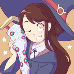 Akko Icon by Thoughts-and-Bubbles