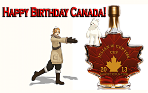 Happy Birthday Canada! by Shake666Productions