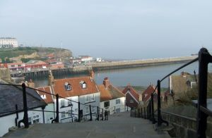 Whitby Steps (2) by PaulineMoss