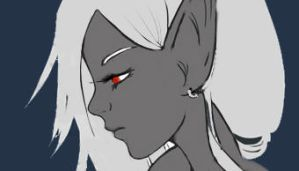 Drow profile by lv1-drow