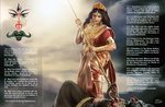 Jai Maa Durga by bodyscissorfan