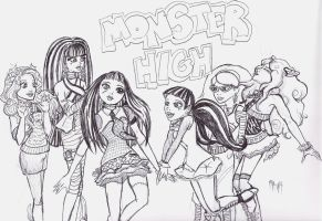 Monster High by Tsuyu89