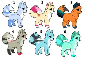canine adoptable sheet open. by Music-wolf-adopts90