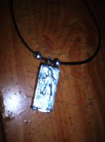 Han Solo in Carbonite Necklace by LadyIlona1984