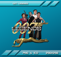 007 Legends Dock icon by Dohc-WP
