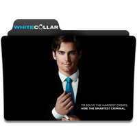 White Collar folder icon by Kliesen