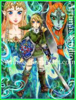 Zelda Twilight Princess by ArtimasStudio