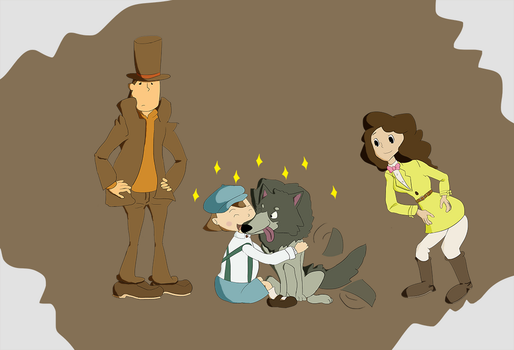 Professor Layton and the difficult conversation by Nijem