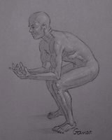 Figure Drawing #25 by AngelGanev
