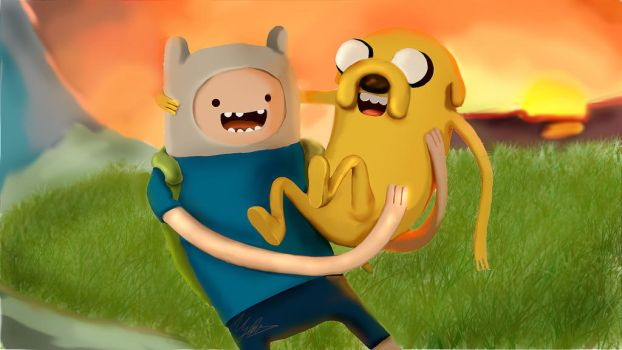 Adventure Time by clementine-petrova