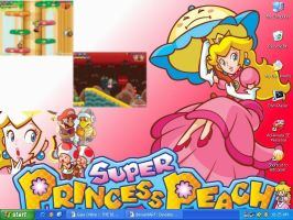 Princess Peach by Usagi-CRI