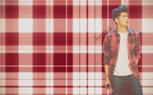 Zayn Plaid Wallpaper 2 by iluvlouis
