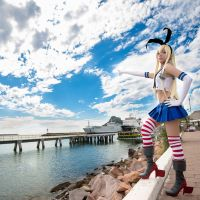 Attack! II - Shimakaze Cosplay by MaySakaali