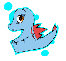The Totodile by Yamikaisu