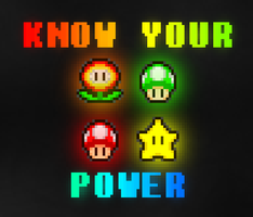 KNOW YOUR POWER by PxlCobit