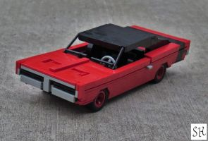 1969 Dodge Charger R/T by spanglidermish