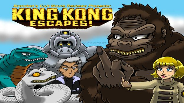 Brandon's Cult Movie Reviews: King Kong Escapes by Enshohma