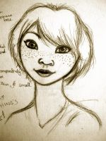 Realistic mature Diana portrait :3 by Shenny-Shendelier