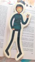 Adventure Time/Spock Bookmark by EvaHolder