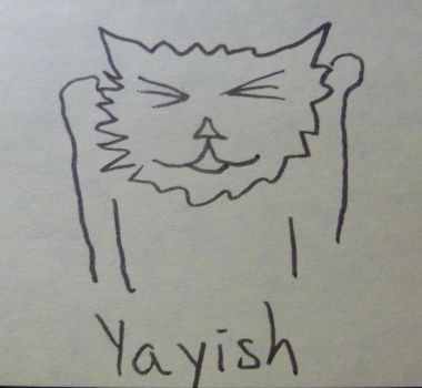 Cat feeling yayish by itsnickaroo