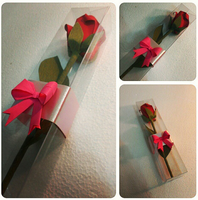 Origami simple rose by OrigamiPanama